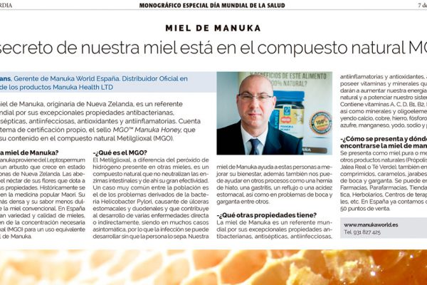 Manuka World en La Vanguardia